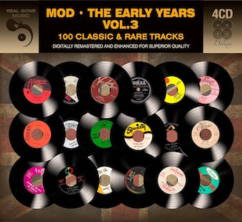 V.A. - Mod : The Early Years Vol 3 ( 4 cd's box )