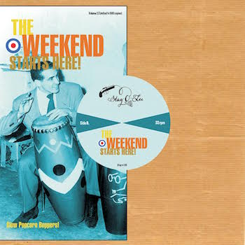 "V.A. - The Weekend Starts Here : Vol 2( ltd 10"" lp )"